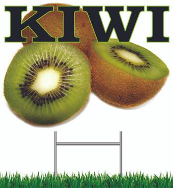 Kiwi Yard Signs.