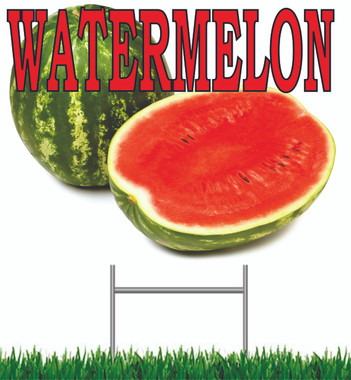 Watermelon Yard Sign Must Have Sign.
