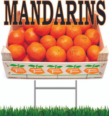 Mandarins Yard Signs,Great Looking Sign!