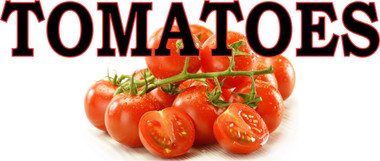 Tomatoes Inviting Customer in to Buy! 3ft & 6ft Banner.