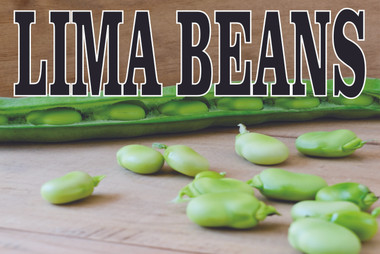Lima Beans When in Season Let Customers Know!