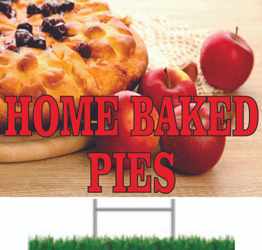 Home Baked Pies Road SIgn.