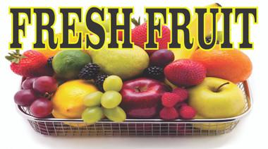 Fruit Basket Banner