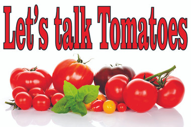 One of Many Tomatoes Banners in the Stop The Traffic Collection.