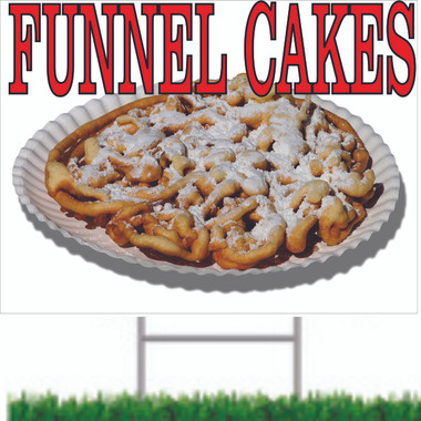 Great Way to Let Customer Know You have Funnel Cakes!