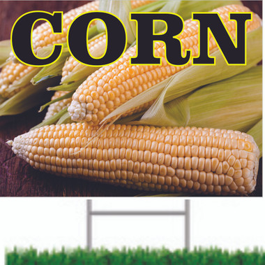 Corn Road Sign Helps Bring In New Customers.