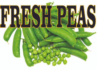 Bright & Colorful Peas Banner.