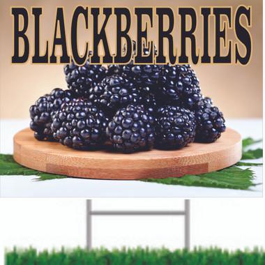 Blackberries Road Sign will Always Get Noticed.