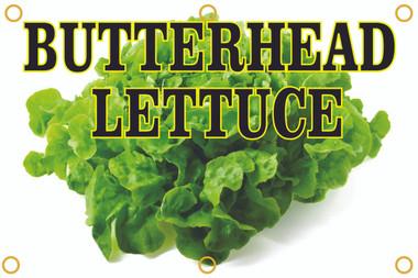 Butterhead Lettuce Banner Brings In Customers.