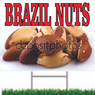 Brazil Nuts Road Sign Get You Noticed.