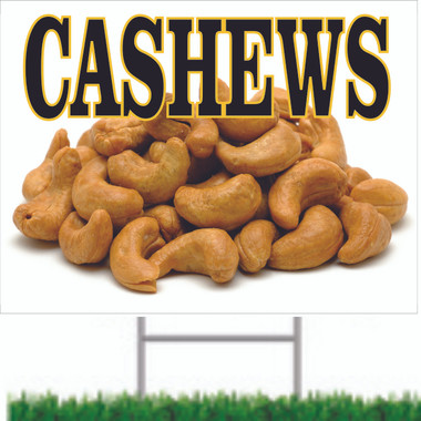 Cashews Road Sign Helps Bring in Customers