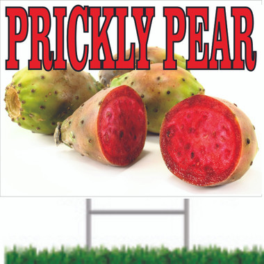 Prickly Pears Road Sign Lets Customer Know You Have Many Fruits.