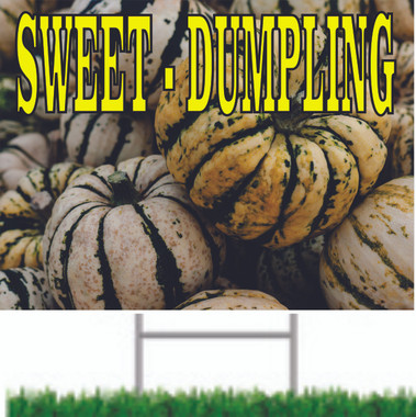 Sweete Dumpling Nice Road Sign.