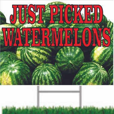 Watermelon Road Signs.