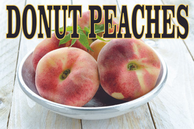 Great Looking Donut Peaches Banner.