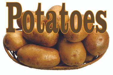Potatoes Banner Bring In Customers.