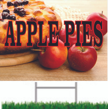 Apple Pies Road Sign Draws Attention.