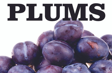 plums banner help get you noticed.