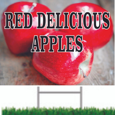 Buy this bright colorful Red Delicious Apples here at Stop The Traffic