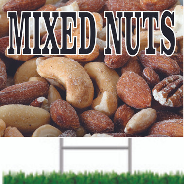 Great Image of Mixed Nuts Draw Attention To Your Market.