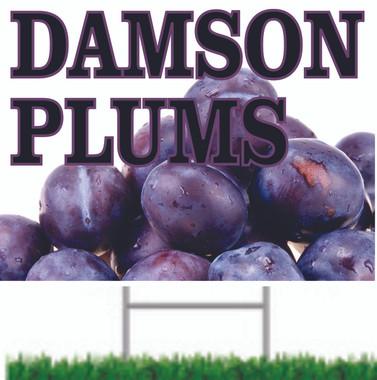 Damson Plus Road/yard Sign.