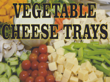 Deli Vegetable & Cheese Tray Banner
