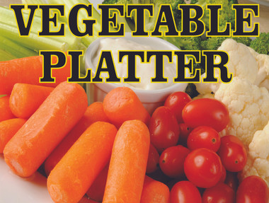 Vegetable Platter Tray