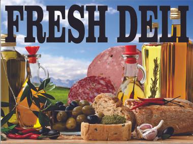 Fresh Deli Banner