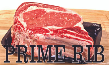 Prime Rib Banner Always Gets Noticed.