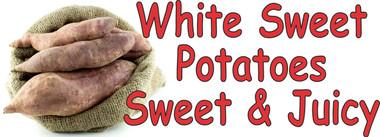 White Sweet potatoes Sweet & Juicy