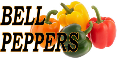 Bell Peppers Banner Always a Favorite with Customers and Brings in New Customers.