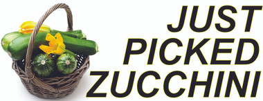 Wonderful Colorful Zucchini Banner brings in New Customers.