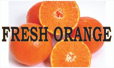 Fruit Banner - Fresh Oranges Life Like Color!
