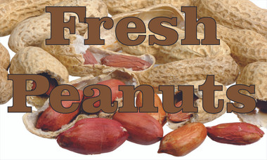 Fresh Peanuts! - Produce Banners