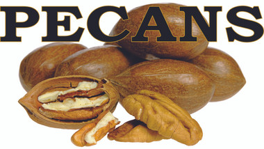 Produce banners - Pecans Fresh Crop!