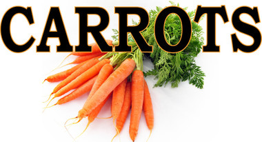 Carrots It's a Very Bright Bold Banner.