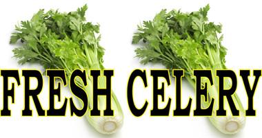 Fresh Celery it's Inviting.