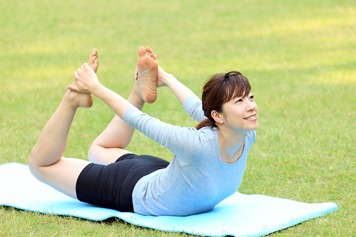7 yoga poses for glowing skin