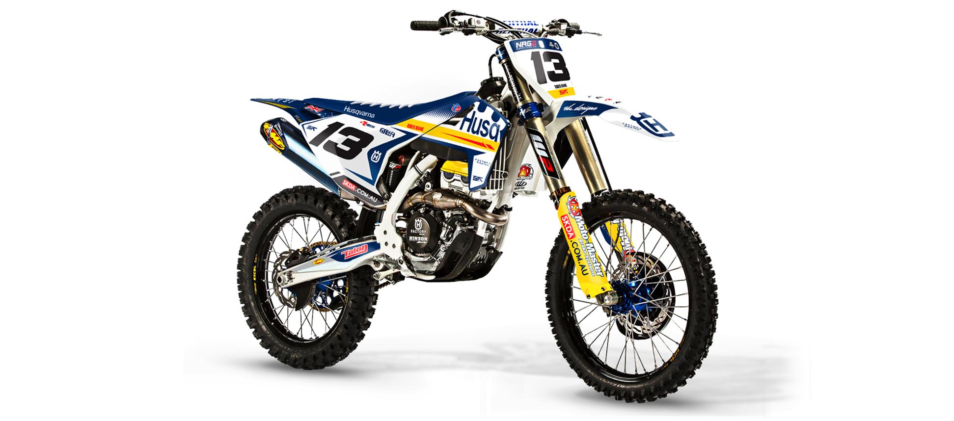 Yamaha bike sticker designs - Sk Designs Australia Custom Moto Graphics Seat Covers Accessories