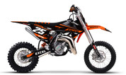 KTM Mini Bike SX50 & SX65 Graphics - By SK Designs Australia