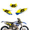 Husaberg Race Number Plates - by SK Designs Australia