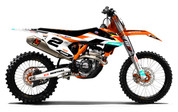 KTM 2016 2017 Graphics Kit by SK Designs Australia