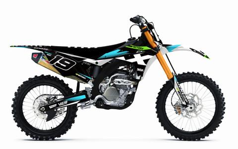 2017 KX250F Kawasaki Graphics by SK Designs Australia