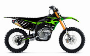 2017 KX250F Kawasaki Graphics by SK Designs Australia