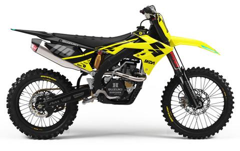 RMZ 450 2018 Suzuki Graphics Kit - By SK Designs Australia