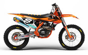 KTM SX SXF 2016 2017 2018 Graphics Kit - by SK Designs Australia