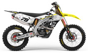 Nick Schmidt Replica - 2018 Suzuki RMZ Graphics Kit - by SK Designs Australia