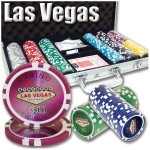 300 pc Las Vegas Casino Professional 11.5g Poker Chip Set with Case & FREE OFFER