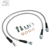 Stainless Steel Braided Flex Lines - 88-00 CK1500 factory front replacement