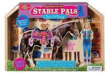 Stable Pals Becca and Beauty Wooden Magnetic Dress-Ups | T.S. Shure